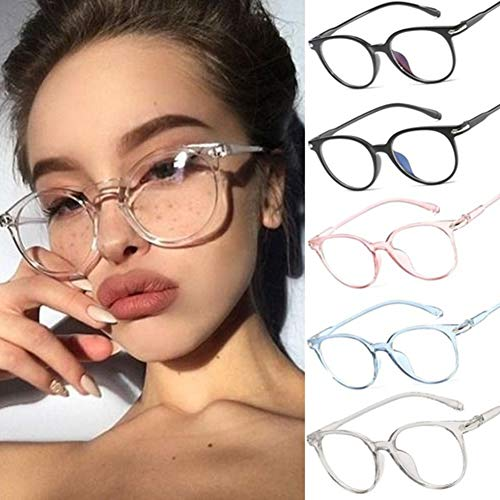 Gracorgzjs Brillengestell , Unisex-Schutzbrillen Schutzglas Brillengestell Transparentes Rosa - Brillengestell