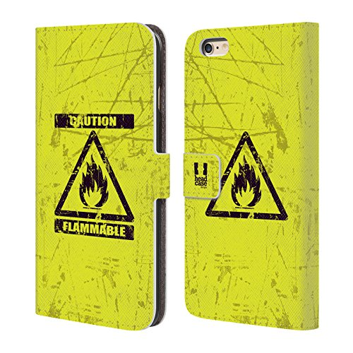 Head Case Designs Marienkäfer Muster Verschiedene Designs Brieftasche Handyhülle aus Leder für Apple iPhone 5 / 5s / SE Brennbar