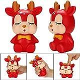 TAOtTAO Squishy Kawaii Sleeping Deer Duft Charme Langsam Steigende Stressabbau Spielzeug