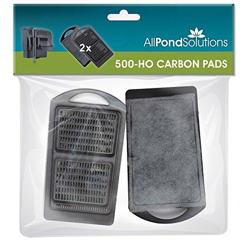 Carbon Filter Media (All Pond Solutions Schrank Filter Media/Carbon Pads/, 16x 9x 1,3cm, 2Stück)