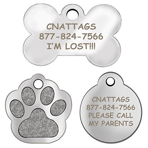 stainless-steel-dog-tags-pet-tags-engraved-many-shapes-to-choose-from-by-cnattags-life-time-warranty