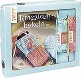 Kreativ-Set Tunesisch Häkeln für Einsteiger: Buch mit Grundanleitungen und einfachen Modellideen sowie Material für eine Handyhülle mit Kordel: 50g ... tunesische Häkelnadel (Buch plus Material)