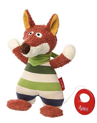 Sigikid 41387 Spieluhr Fudallo Fox, mehrfarbig