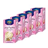 Krüger Chai Latte Exotic India, Kokos-Mandel, mildes Milchtee Getränk, 50 Portionsbeutel