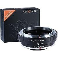 Canon FD Lente per Micro 4/3, K&F Concept Adattatore di obiettivo per Olympus PEN e Panasonic Lumix Camera