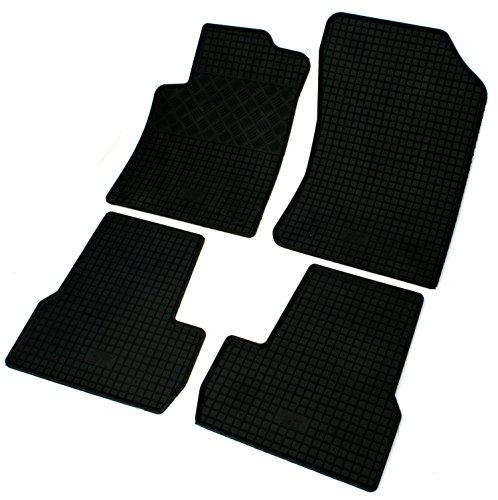 Pie de goma para Citroen C3Juego de alfombrillas para + DS3a partir de 2010de pie de goma alfombras alfombrillas de goma