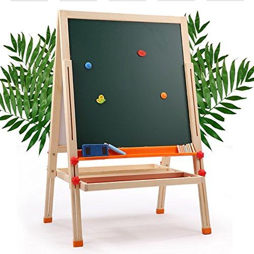 QFFL Staffelei Kinder können Zeichenbrett Magnetische Doppelseitige Kleine Tafel Größe Optional Staffeleien (größe : 54-94cm)