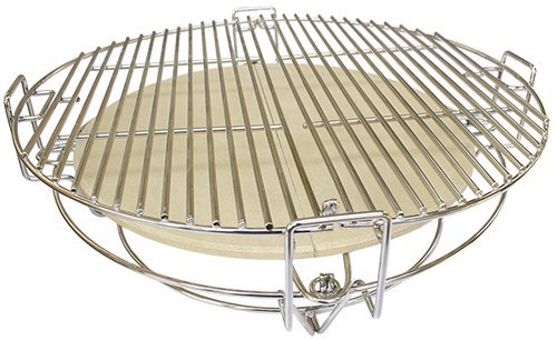 AUPLEX Keramik Holzkohle BBQ Grill Smoker Zubehör Grillzubehör Kamado Teile Divide & Conquer Kochen System -