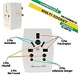 #6: SSK MULTIPLUG | Multi Socket | Universal Multi Plug | Multi PIN Adapter