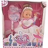 Dimian BD1338 - muñeca bailarina con efecto de sonido, 40 cm