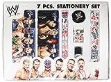 WWE Stationery Set - Design 1, Multi Color (7 Piece)