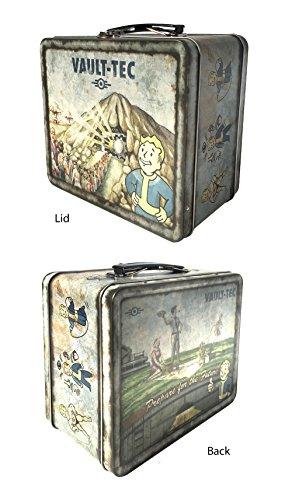 Fallout 4 Vault-Tec Weathered Tin Tote Prop Replica - [Edizione: Regno Unito]