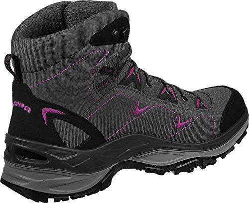 Lowa Ferrox Gtx Mid Ws, Stivali da Escursionismo Donna grigio rosa