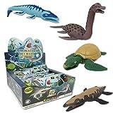 Sbabam Dominatori dei mari Dinosaurs Edition Confezione da 3 Bustine Animal Discovery