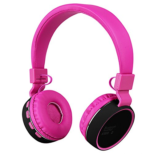 Votones Bluetooth Headphones for Kids Adjustable Wired Wireless Headset  With Build-in Mic Children 5b30196fef