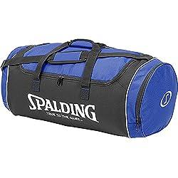 Spalding Sporttasche Tube Sportbag - Bolsa para material de baloncesto ( grande ) , color azul, talla L