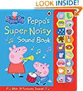 #9: Peppa Pig: Peppa's Super Noisy Sound Book