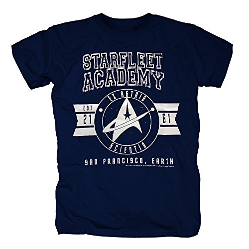 TSP Star Trek - Ex Astris Scientia T-Shirt Herren XL (Uhura Kostüm Captain)