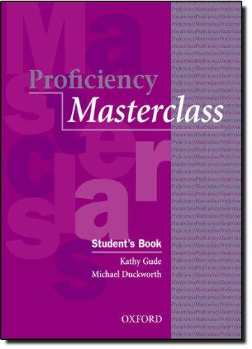 Proficiency Masterclass: Prof masterclass n/e sb: Student's Book