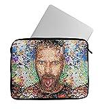 Dr. House Lsd Drugs Pills Laptop Sleeve Laptop Case Neoprene 11 inch 13 inch 15 inch Macbook Mac Dell Samsung Lenovo