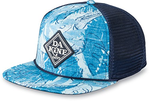 Dakine Classic Diamond Trucker Einheitsgröße Kappe, Washedpalm Diamond Trucker Hut