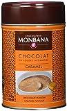 Monbana Schokoladenpulver Karamell 250g Dose (mind. 32% Kakao), 1er Pack (1 x 250 g)
