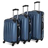 BEIBYE Koffer Farbauswahl!! 3 tlg. Reisekofferset Kofferset Trolley Hartschale
