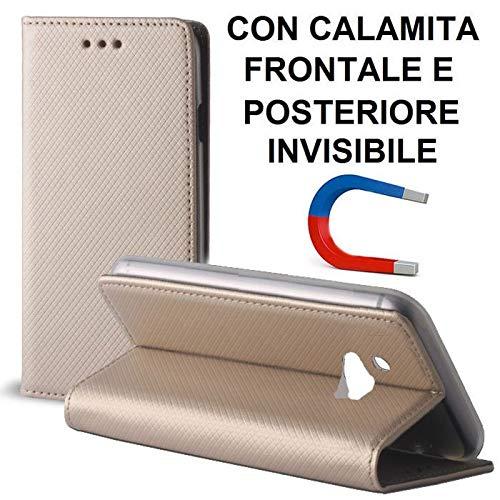Custodia per Nokia 3310 (2017), Nokia 3310 (2017) Dual SIM - Flip Orizzontale con Chiusura Magnetica Invisibile ED Interno in TP