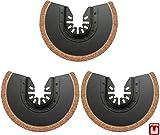 Hobbypower24© 3x Stück Zubehör Hartmetall HM Segmentsägeblatt Ø 88mm für ALDI TopCraft Workzone LIDL Parkside und WORX