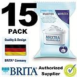 15 X Maxtra Brita Wasserfilter-Krug, Ersatzgummi Ersatz-Tintenpatronen