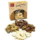 feedly B.A.R.F.-Leckerli Snackbox gefriergetrocknet & getreidefrei | ohne Zusatz- und Konservierungsstoffe in 8 Verschiedenen Sorten (Sensitive 1x60g)