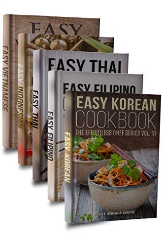 Easy Asian Cookbook Box Set: Easy Korean Cookbook, Easy...