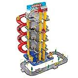 Garage di parcheggio, Garage Playset, Super Ultimate Garage Playset, Parcheggio di grande simulazione per bambini Toy Set, Parcheggio tridimensionale, Assemblaggio di vagoni auto Modello di auto gioca