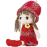 "KateDy 15.7"" Cute Little Girl Toy Lovely Little Princess Doll Amazing Stuffed Plush Toy Doll For Baby Girl Perfect Birthday Gift Xmas Gift"