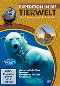 Expedition in die Tierwelt (4 DVD Box)