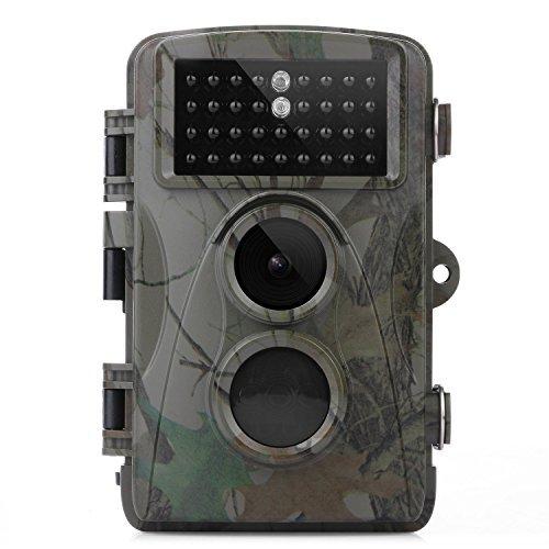 TEC.BEAN Jagdkamera wildkamera 12MP Full HD1080P 120 Grad Weitwinkel 840nm Infrarot Nachtsicht, 2,3