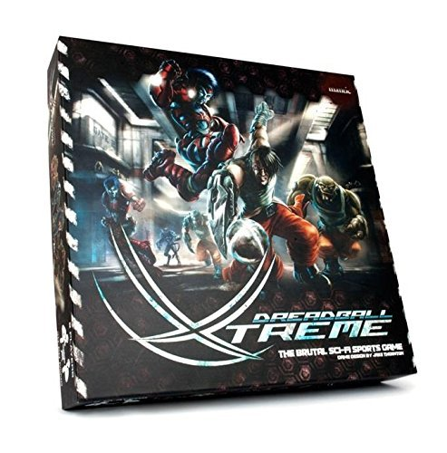 Dreadball Xtreme The Brutal Sci Fi Sports   20 x 28mm Miniatures   Complete Board Game by DreadBall