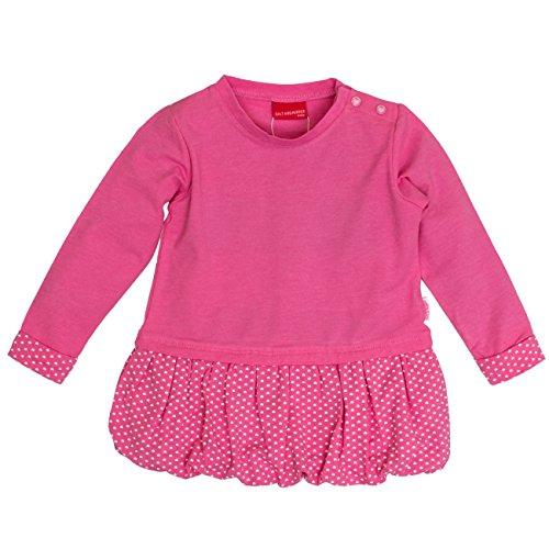 SALT AND PEPPER Baby-Mädchen Kleid B Dress Beach Allover Ballon Mehrfarbig (Candy 802), 74