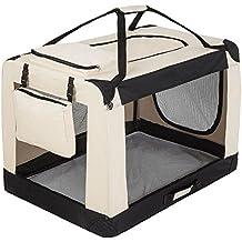 "TecTake Transportín plegable para perros jaula de transporte bolsa viaje 102x69x70cm ""XXXL"""
