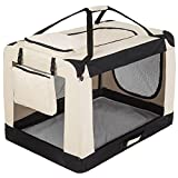 TecTake Portable folding dog pet cage transport carrier - Best Reviews Guide