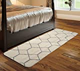 #6: Saral Home Soft Microfiber Kitchen/Bed Side Runner- 50x180 cm