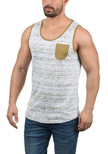 !Solid Imbre Herren Tank-Top Mit Rundhalsausschnitt Aus 100% Baumwolle Regular Fit, Größe:M, Farbe:Ermine (5944)