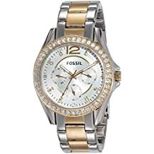 (Certified Refurbished) Fossil Riley Analog Silver Dial Women's Watch - ES3204#CR