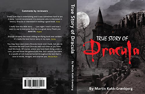 Book cover image for True Story of Dracula (Kindle) (Dracula brought back to life Book 1)