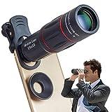NINI Objectif Télescopique Mobile Zoom 18X Transparent pour L'objectif De Caméra De Téléphone Mobile pour Samsung Huawei Modèles Multiples.
