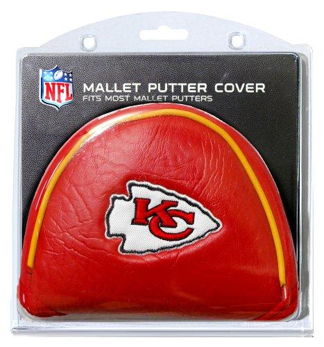 Team Golf NFL Golf Mallet Putter Cover, Kansas City Chiefs (City Kansas Chiefs Spielzeug)