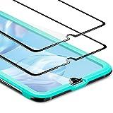ESR Pellicola Protettiva per Huawei P30 [2 Pezzi], Proteggischermo in Vetro Temperato [Protezione 3D...