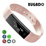 Fitness Tracker, BUGADO STAR Fitness Watch Wristband, Step Counter, Distance, Calorie Counter, Sleep