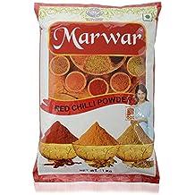MARWAR Premium Red Chili (Lal Mirch) Powder, 500g (Agmark Grade)