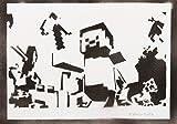 Minecraft Poster Plakat Handmade Graffiti Street Art - Artwork